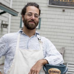 Lifestyle for Food: Fermentation guru Jeremy Ogusky, is a professional potter who makes and sells fermentation crocks .  Rose Lincoln for the Boston Globe